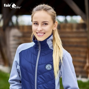 Bluza softshell Fair play salma granatowa L
