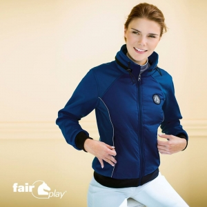 Bluza softshell Fair play kelly granatowa L