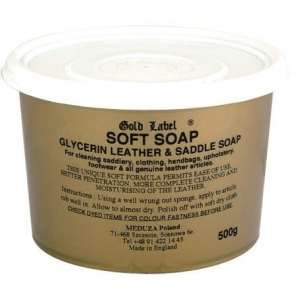 Mydło glicerynowe Saddle Soap Gold Label 500g